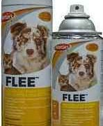 STOP FLEAS WITH FLEE ON PET SPRAY